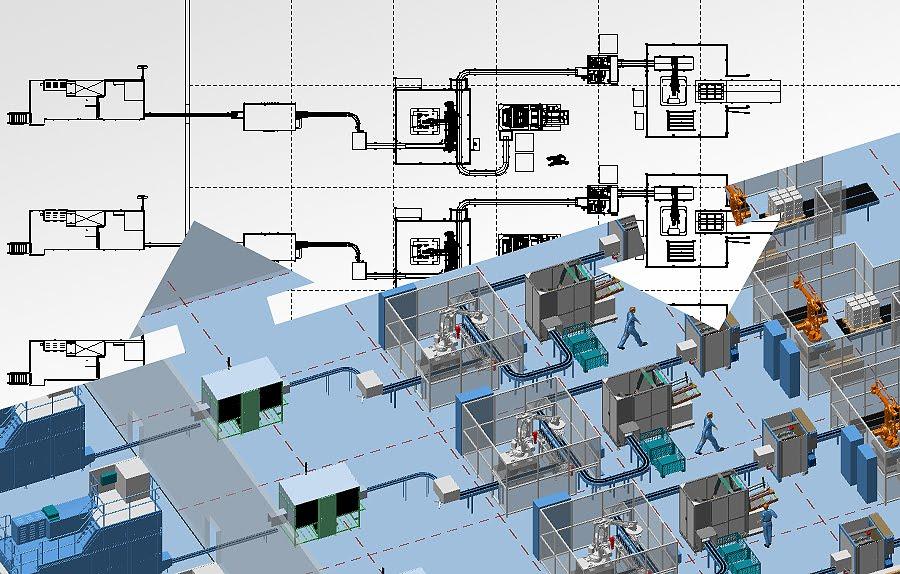 olympos tasarim 3d fabrika yerlesim plani